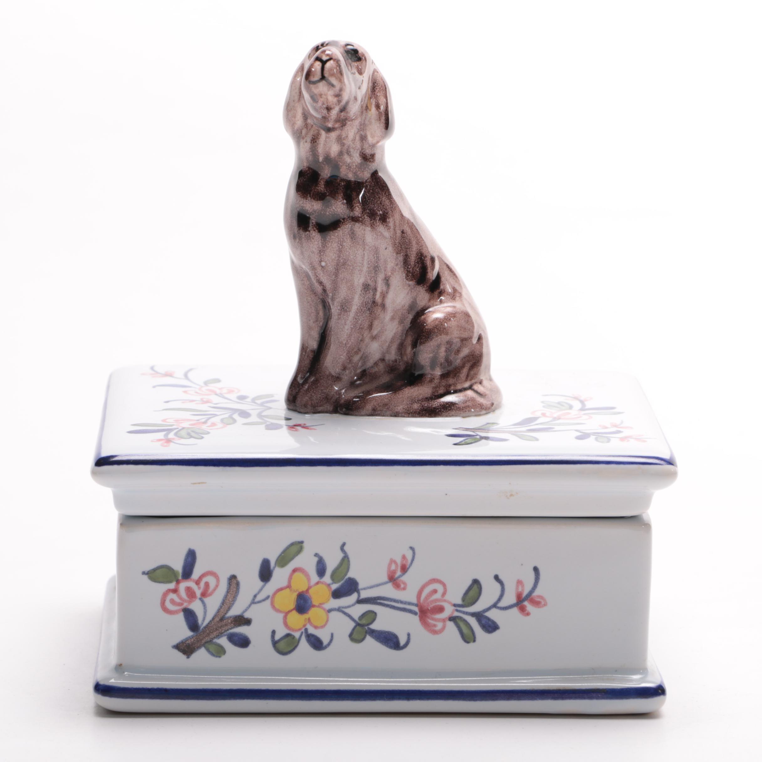 Tiffany & Co. Hand Painted Box