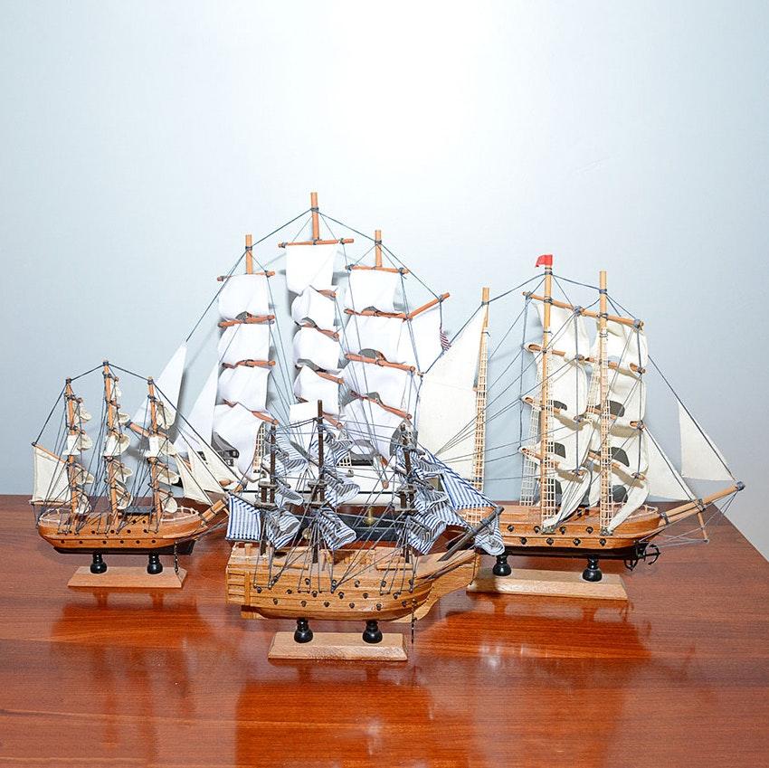 Galleon Trade Sailing Ships