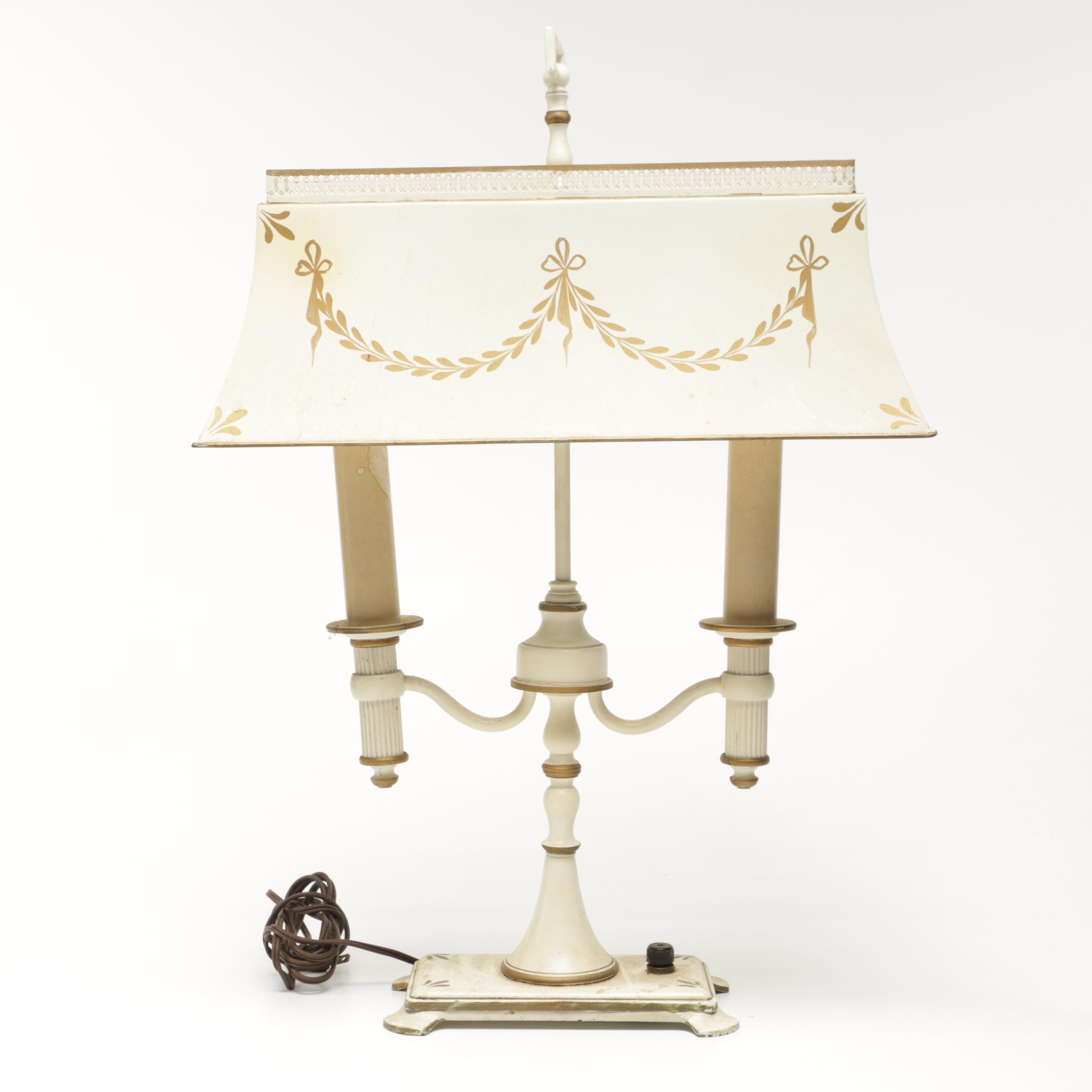 Vintage Victorian Style Table Lamp ...