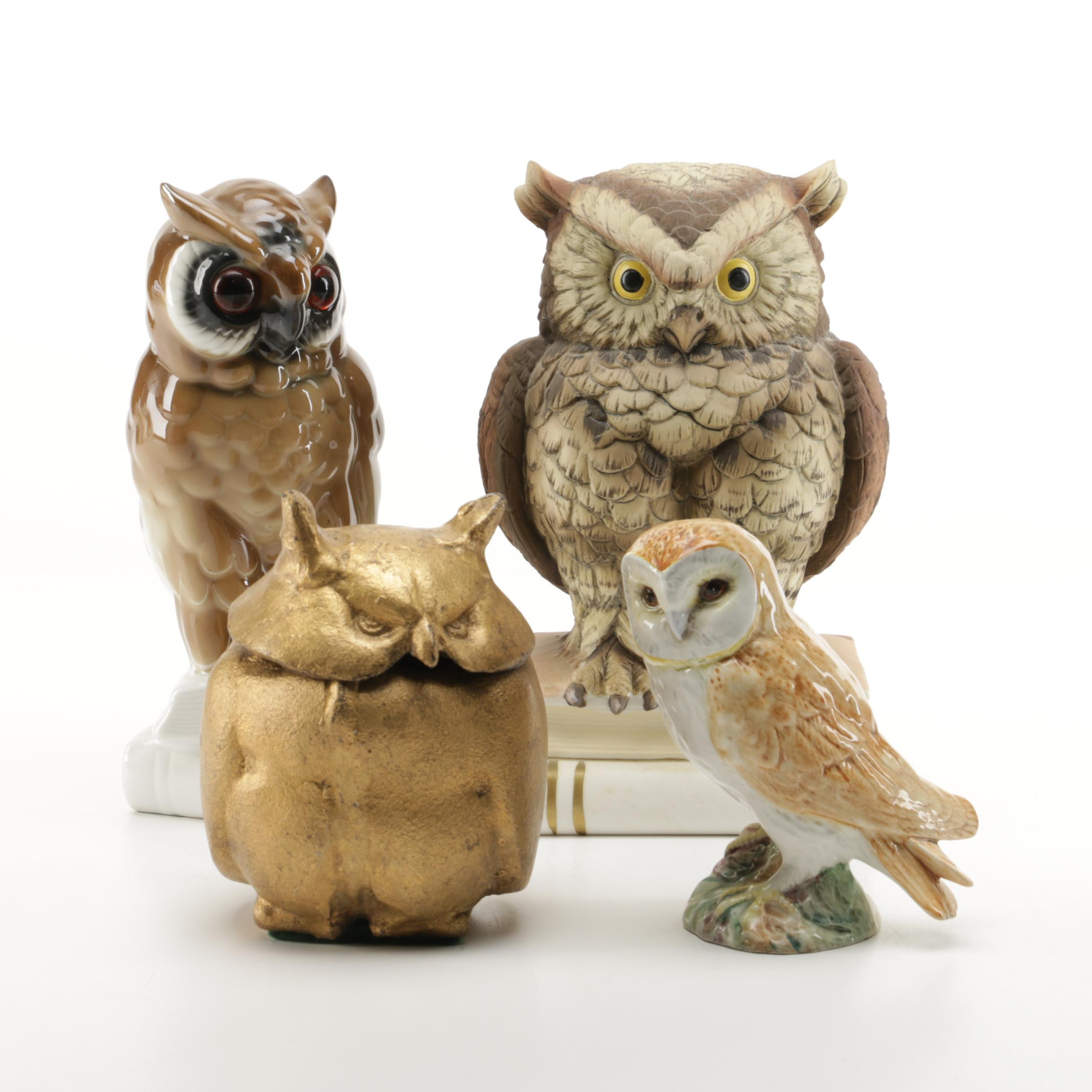 Ceramic Owl Figurines