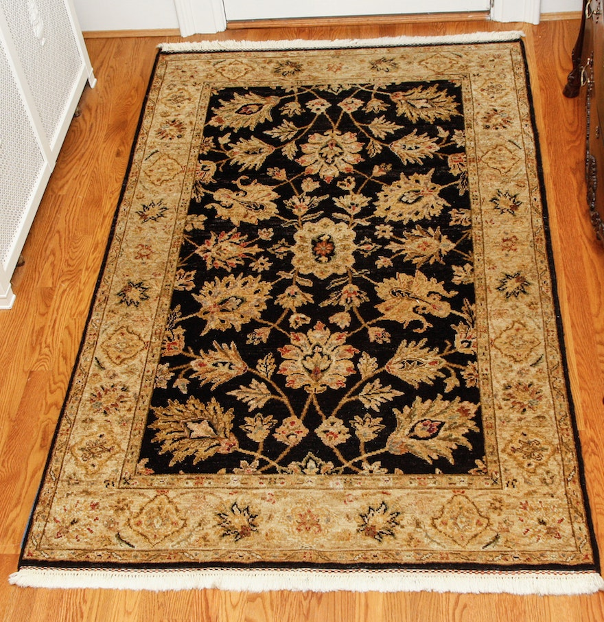 Wool Rugs Made In India: Hand-Knotted Indian Wool Area Rug By The Rug Gallery : EBTH
