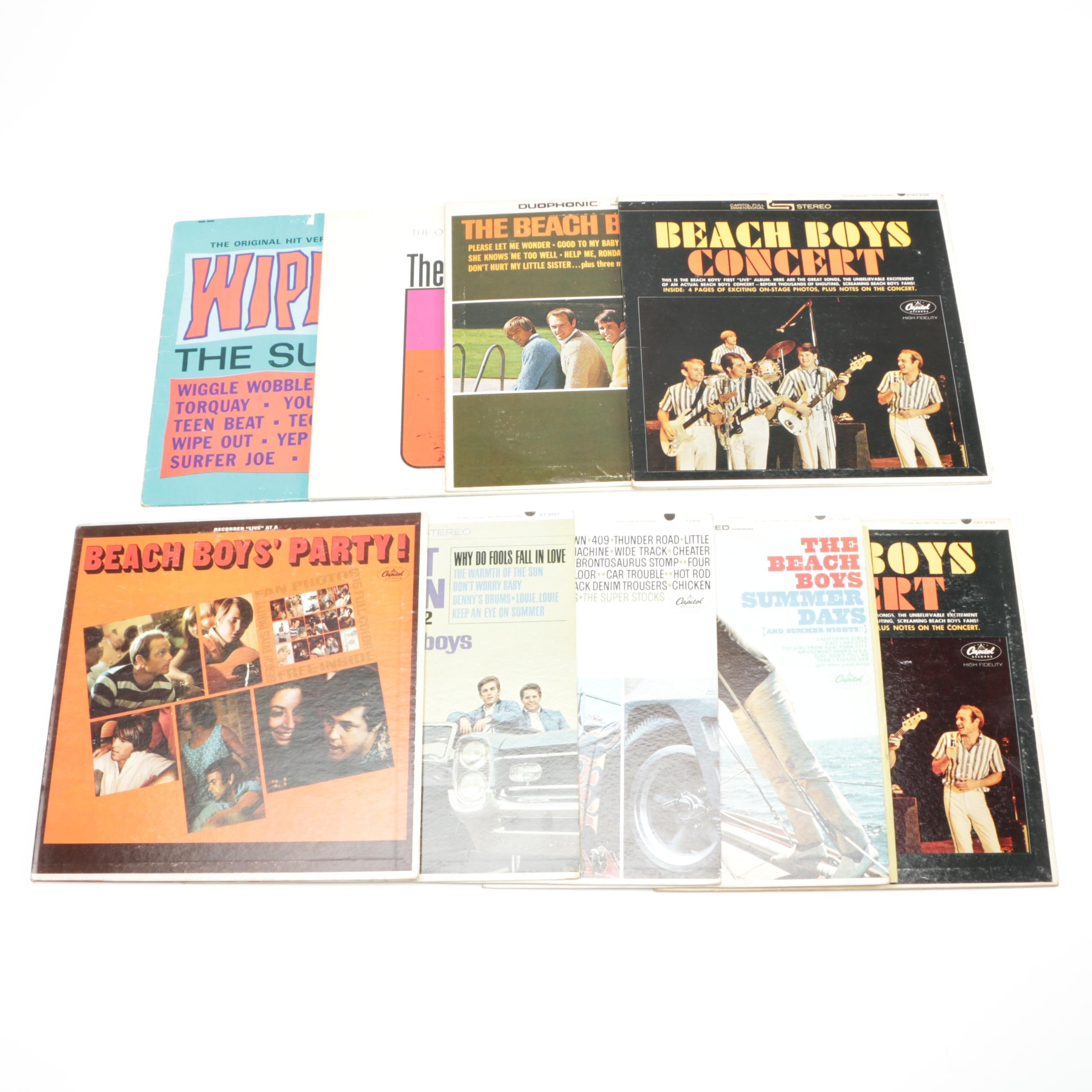 Beach Boys and Other 1960s Surf Rock LPs