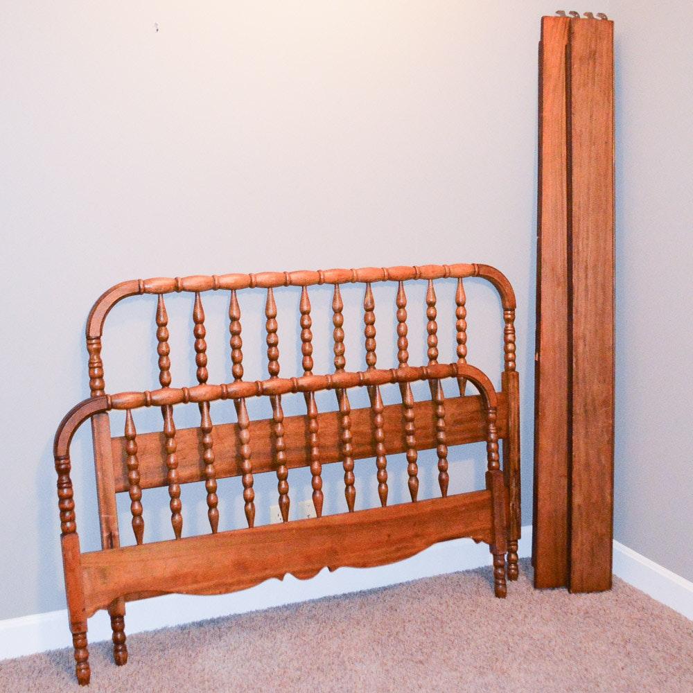 Vintage Jenny Lind Full Size Bed Frame ...