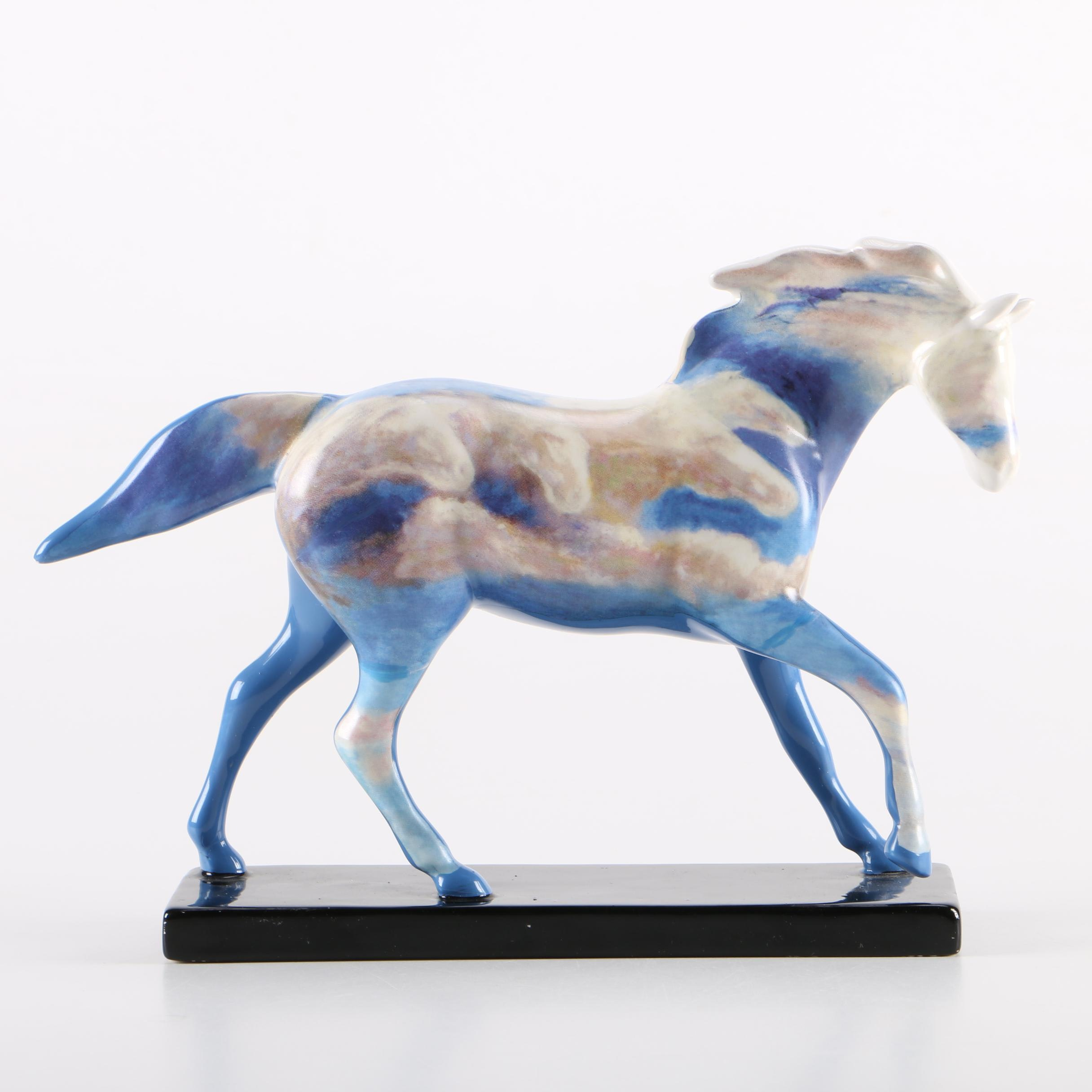"""The Trail of Painted Ponies """"Heavenly Pony"""" Ceramic Collectible Figurine"""