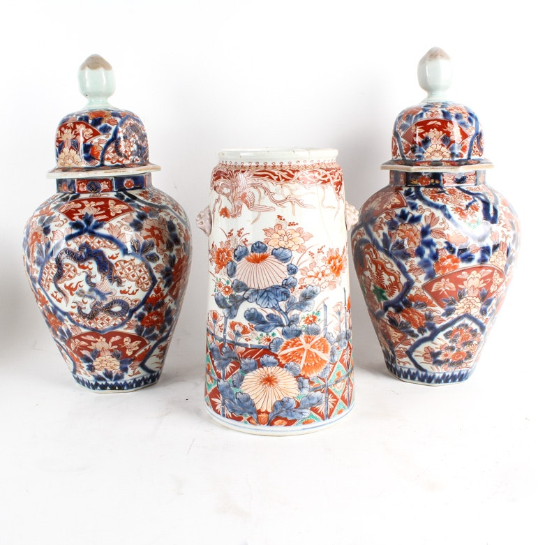 Collection of Japanese Imari Ware