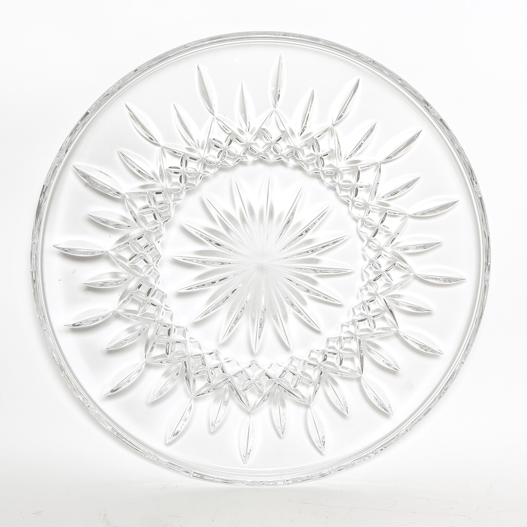 Waterford  Lismore  Crystal Cake Plate ...  sc 1 st  EBTH.com & Waterford