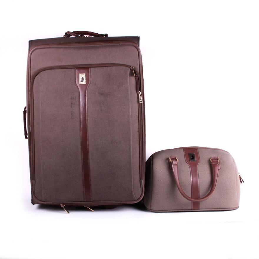 aa8b61775b7f London Fog Two Piece Luggage Set   EBTH