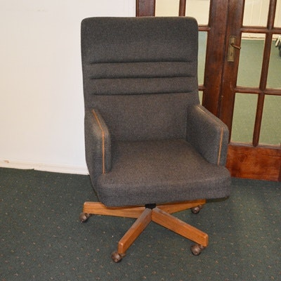 Carolina Seating Company Gray Upholstered Office Chair ...