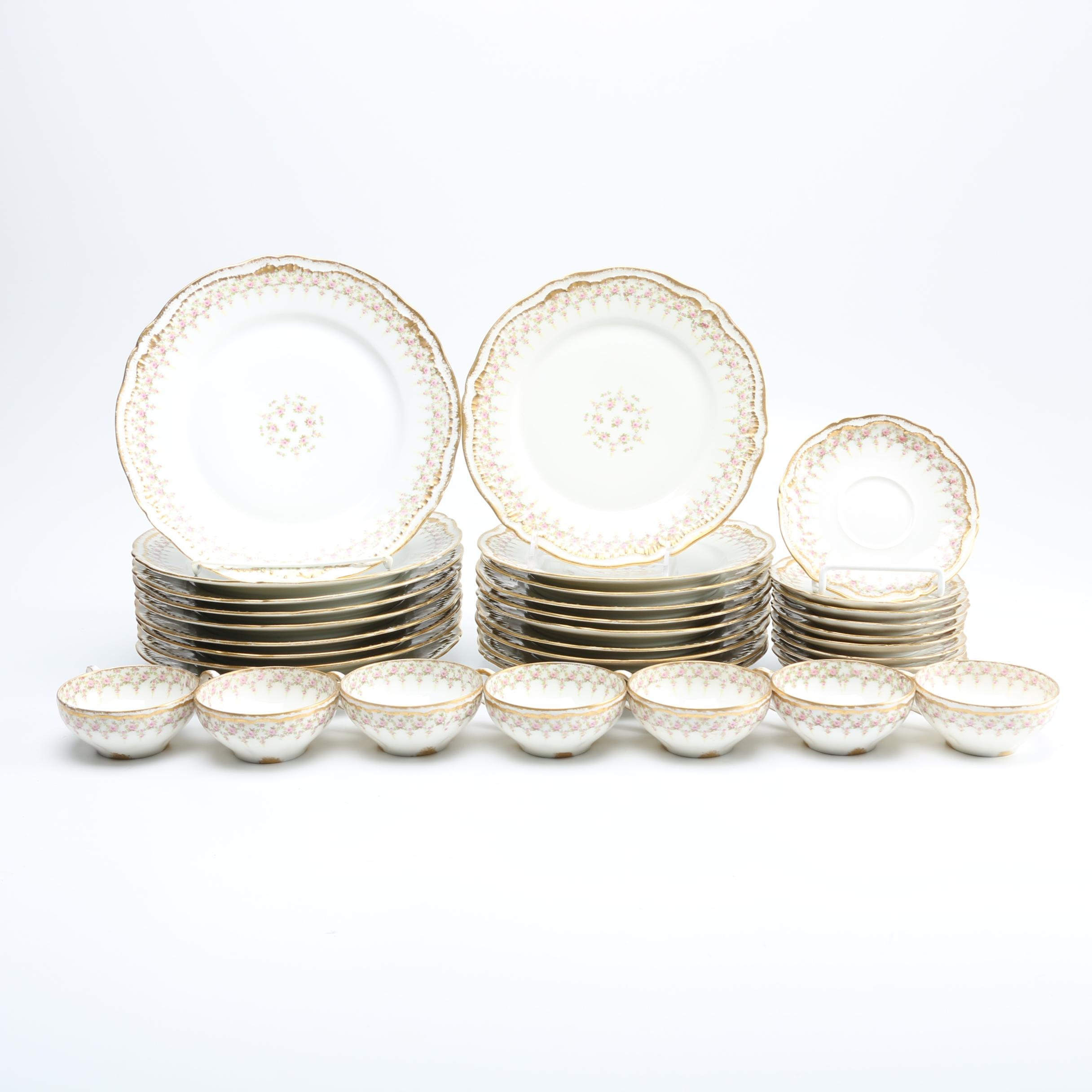 Théodore Haviland Limoges Porcelain Dishes