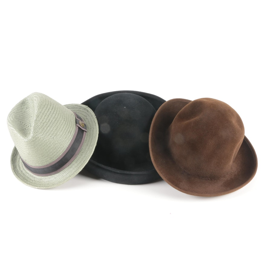 405fb16f38a7b Vintage Style Hats Including Goorin Bros   EBTH