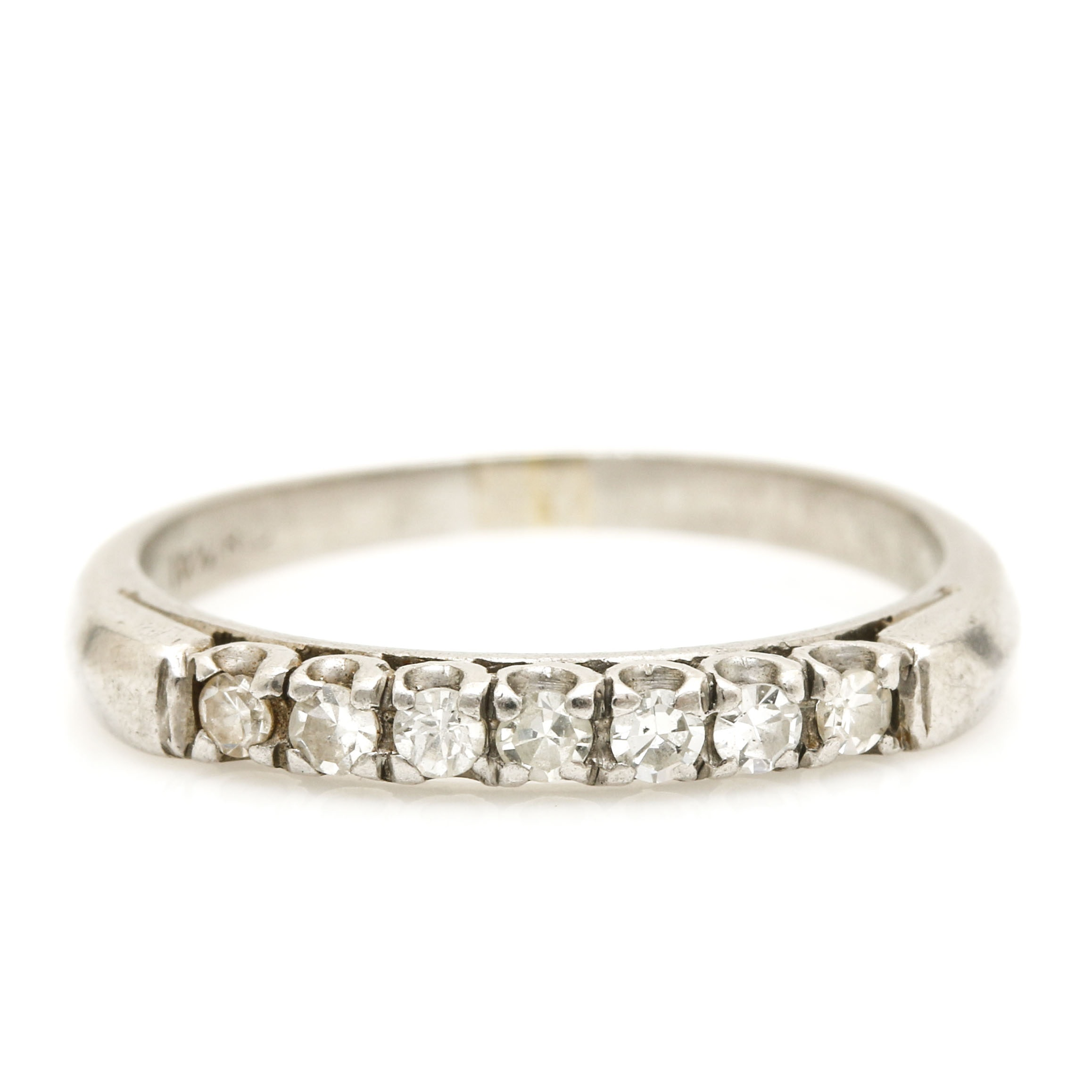 Platinum Diamond Seven Stone Ring