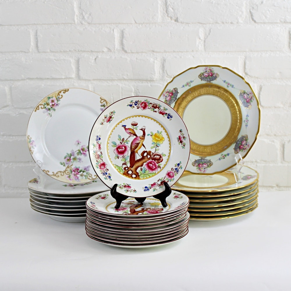 Mix and Match China Including T & V Limoges