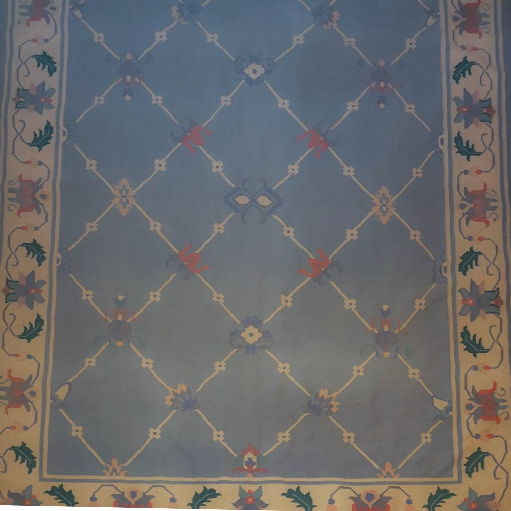 Wool Dhurrie Area Rug