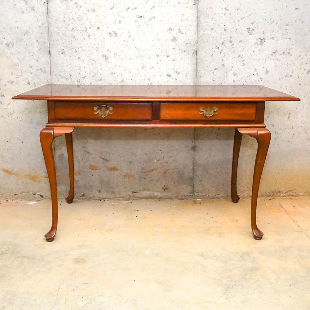 Vintage Queen Anne Style Cherry Desk