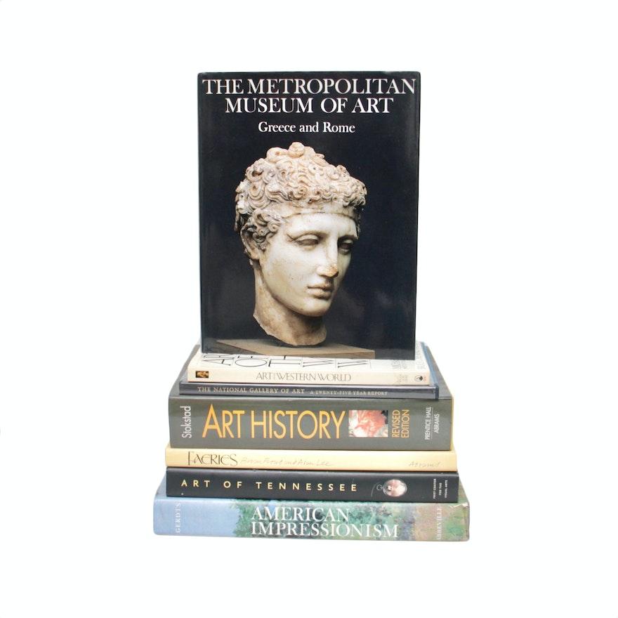 Assortment of Art Books