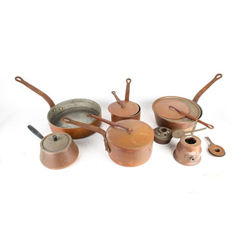 Vintage Copper Cookware