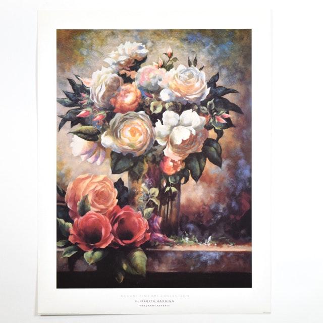 """Offset Lithograph of """"Fragrant Reverie"""" after Elizabeth Horning"""