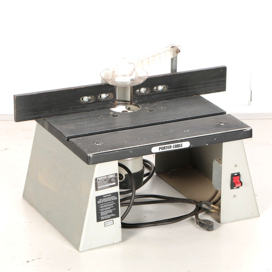 Porter cable bench top router table ebth for Router work table