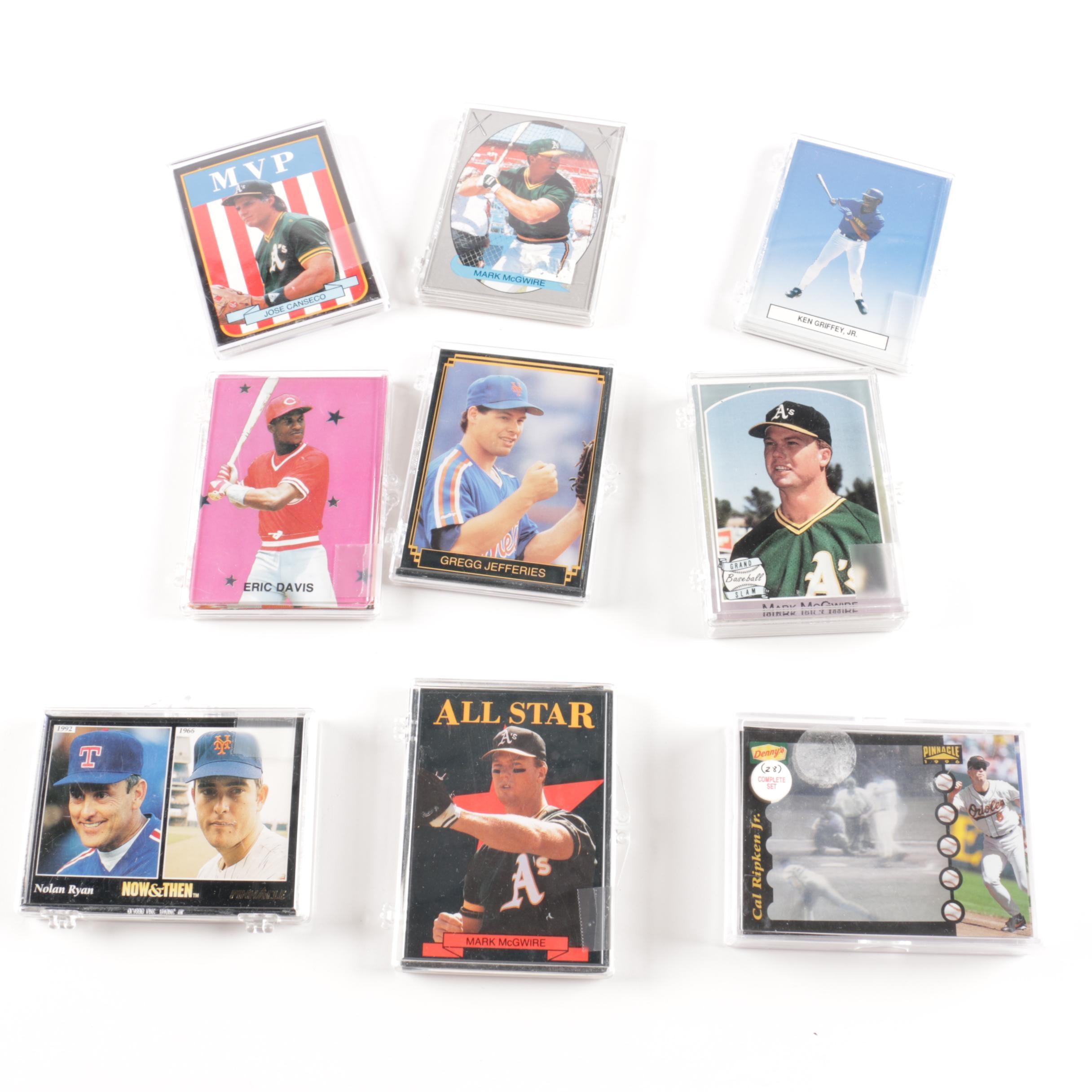 Pacific and Pinnacle Baseball Cards