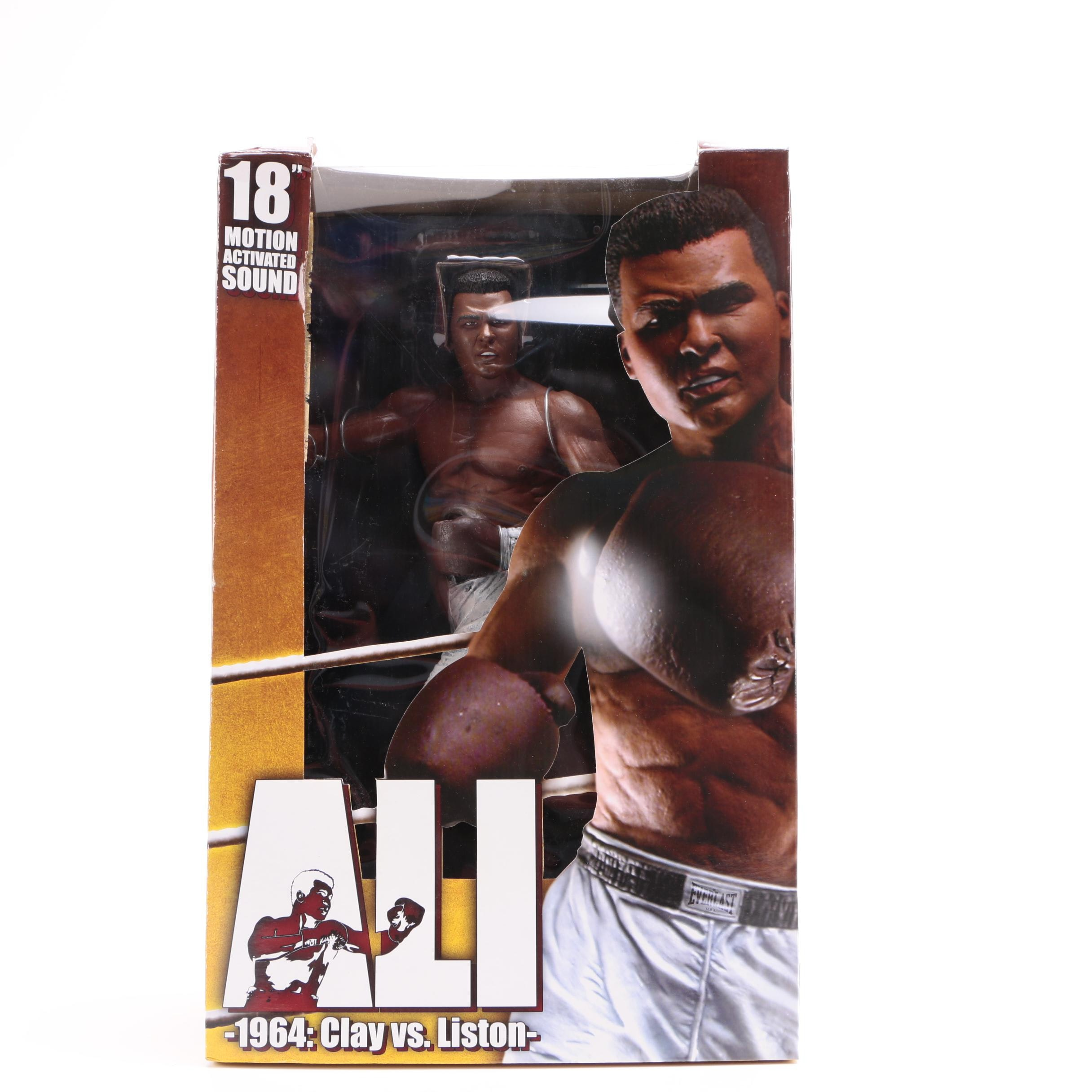 Muhammad Ali 1964: Clay Vs. Liston Motion Activated Action Figure