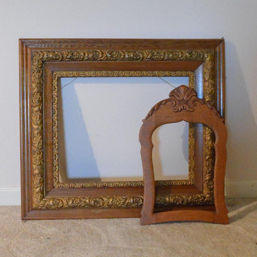 Vintage Wooden Frames Ebth