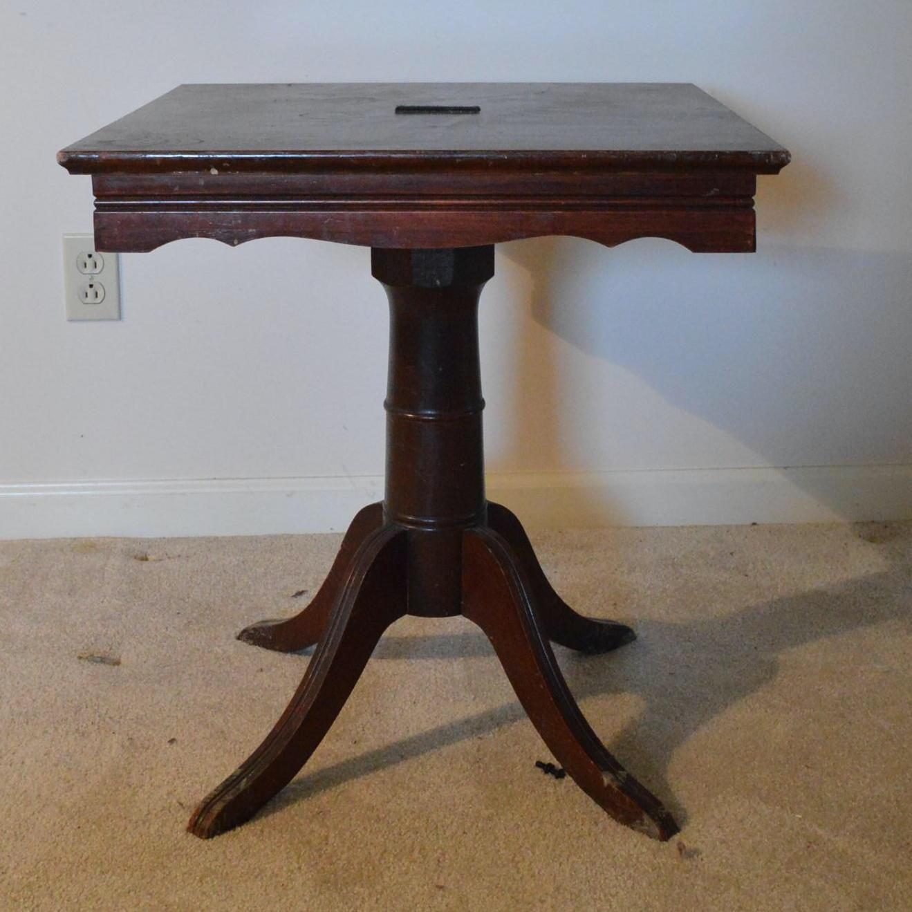 Vintage Eastlake Inspired Side Table