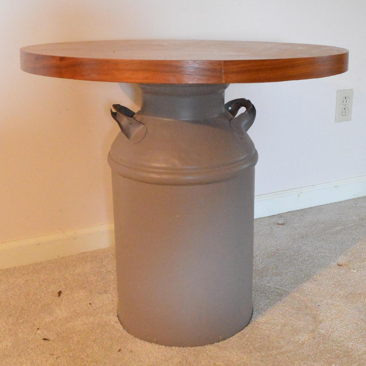 Milk Jug Table