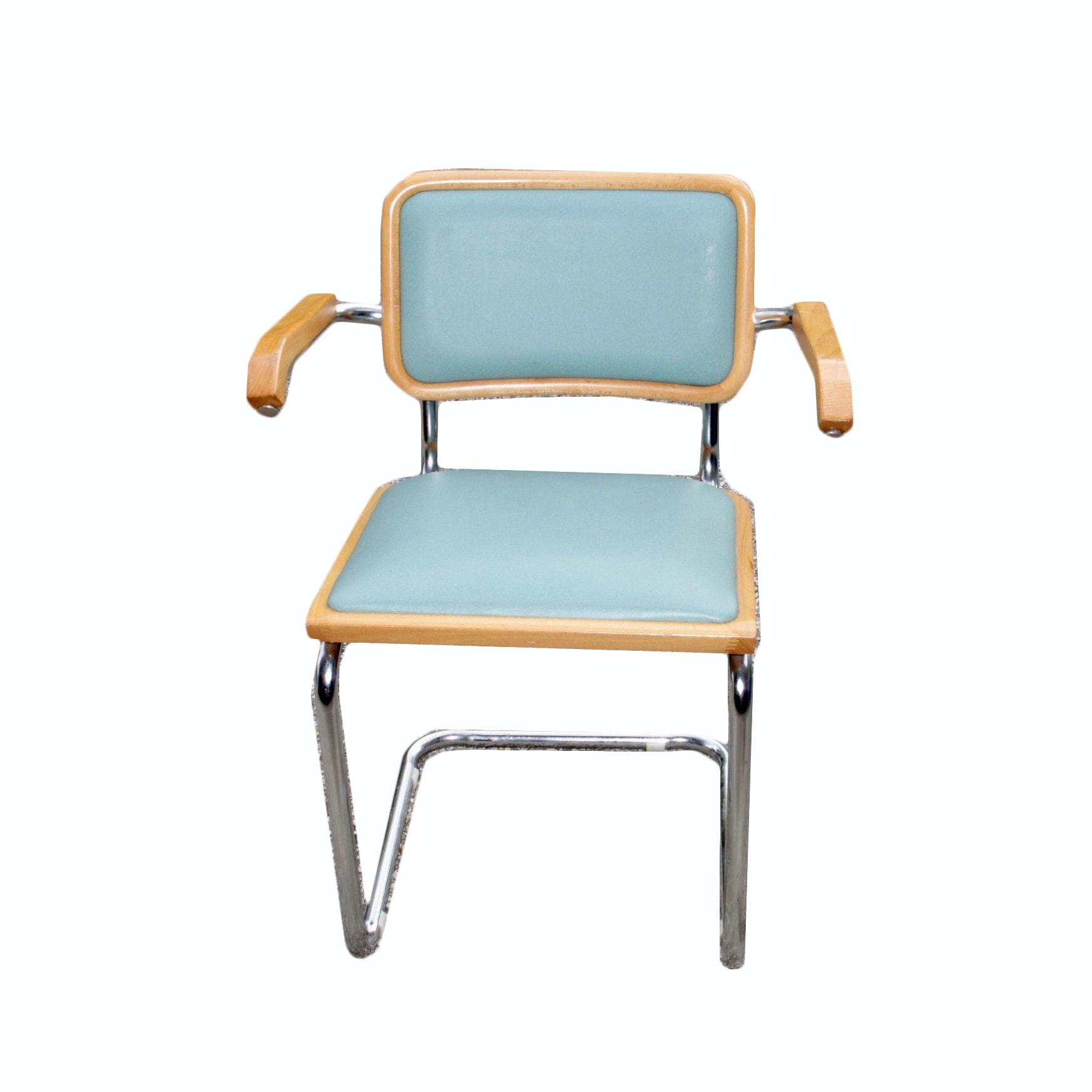 Vintage Mid-Century Cantilever Armchair