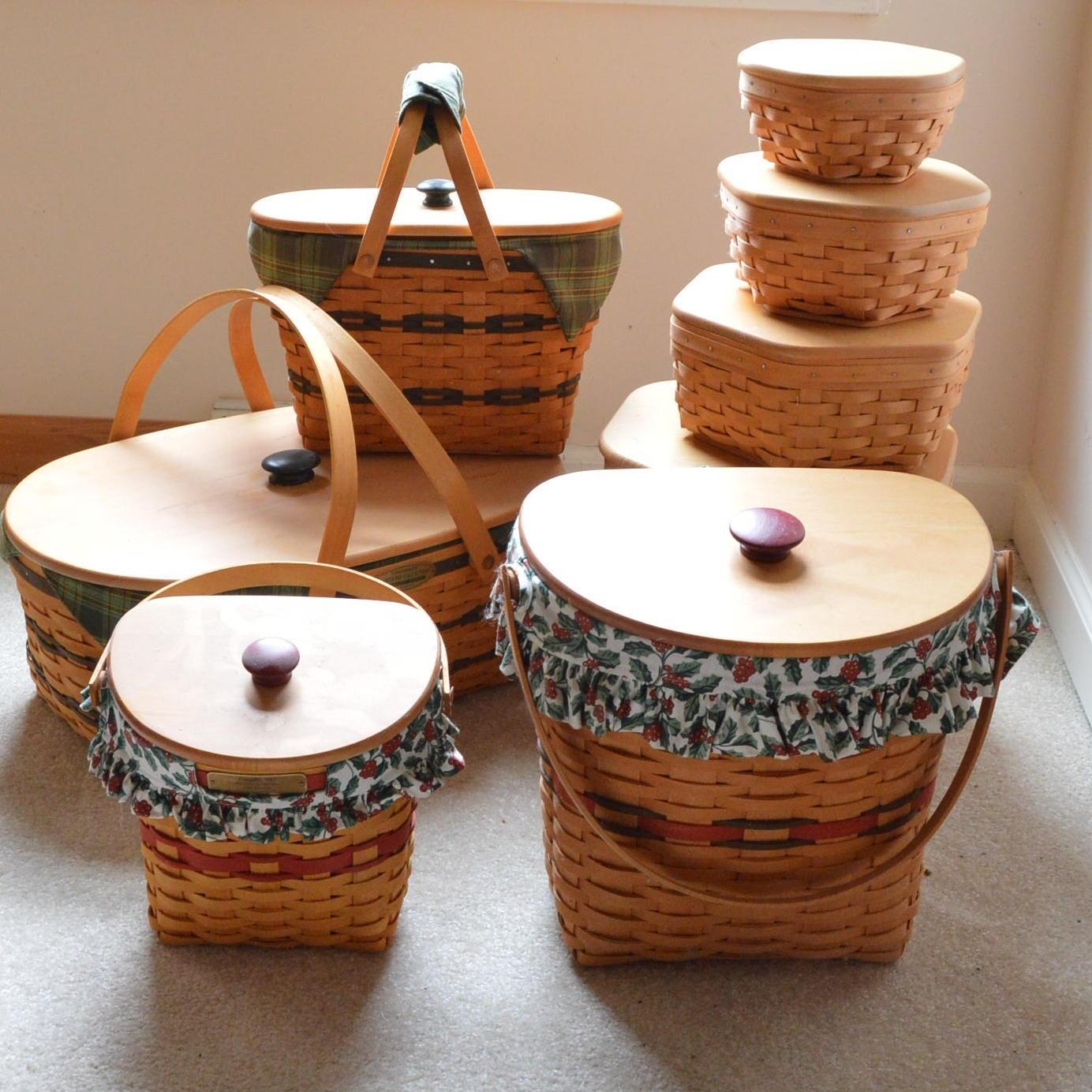 Longaberger Wicker Baskets