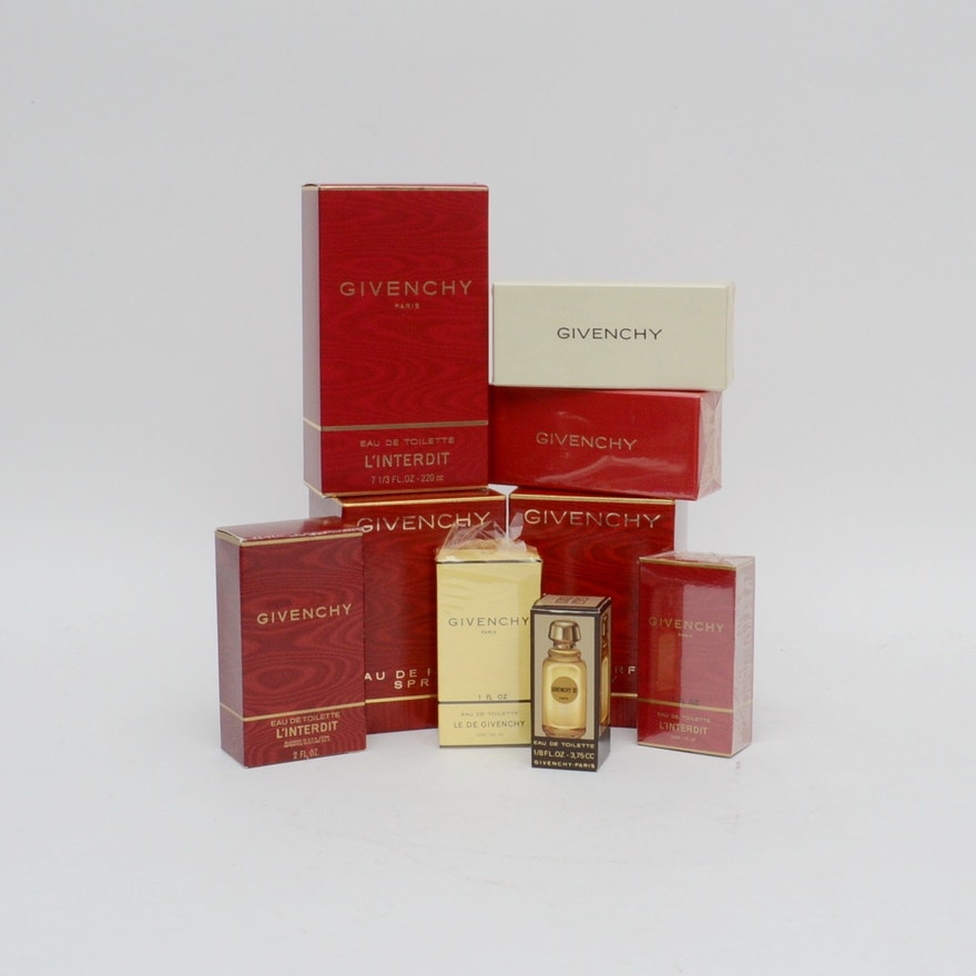 Givenchy Perfume Collection Ebth