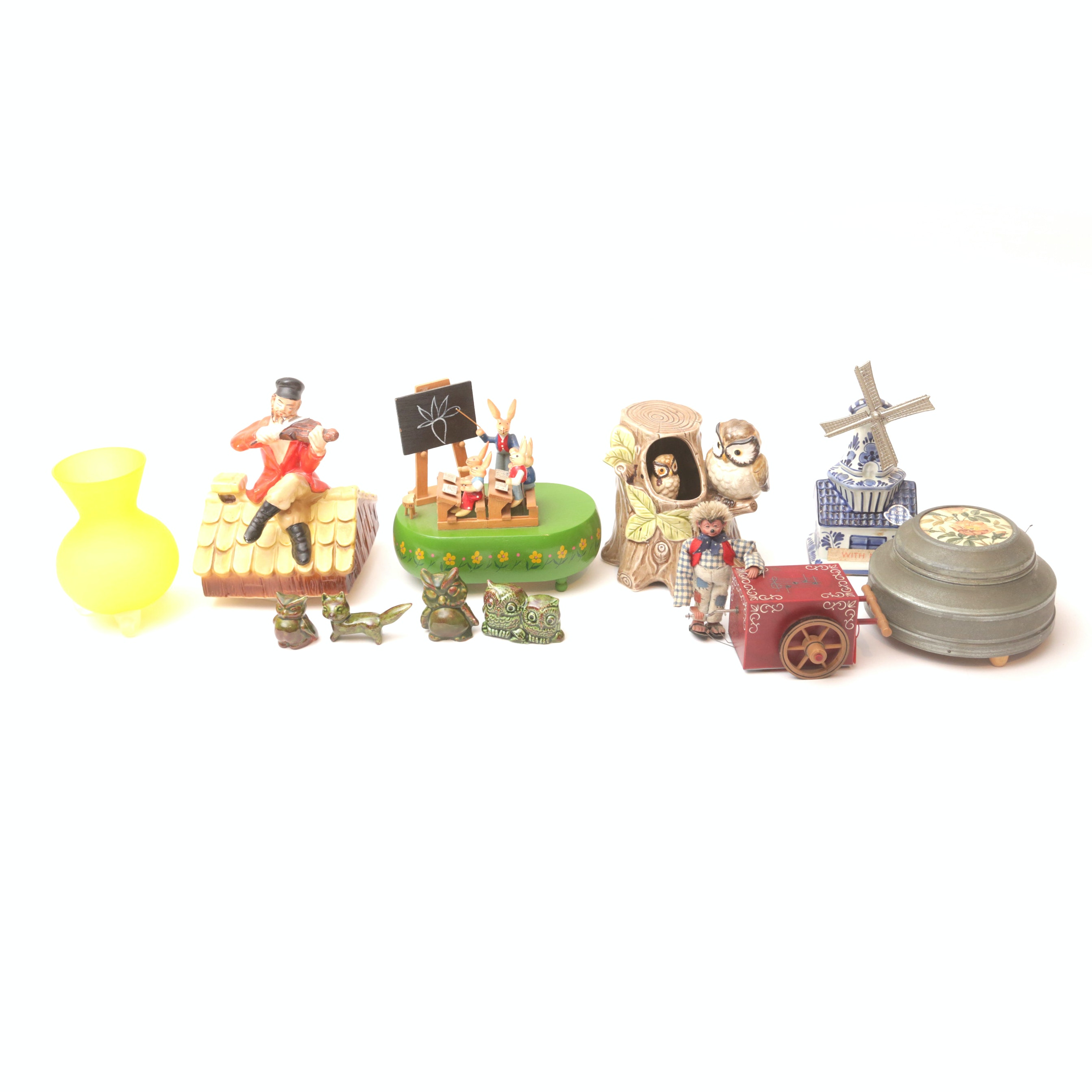 Collection of Musical Figurines