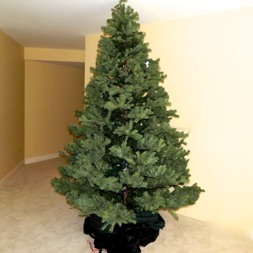 9 Pre Lit Frontgate Christmas Tree And Storage
