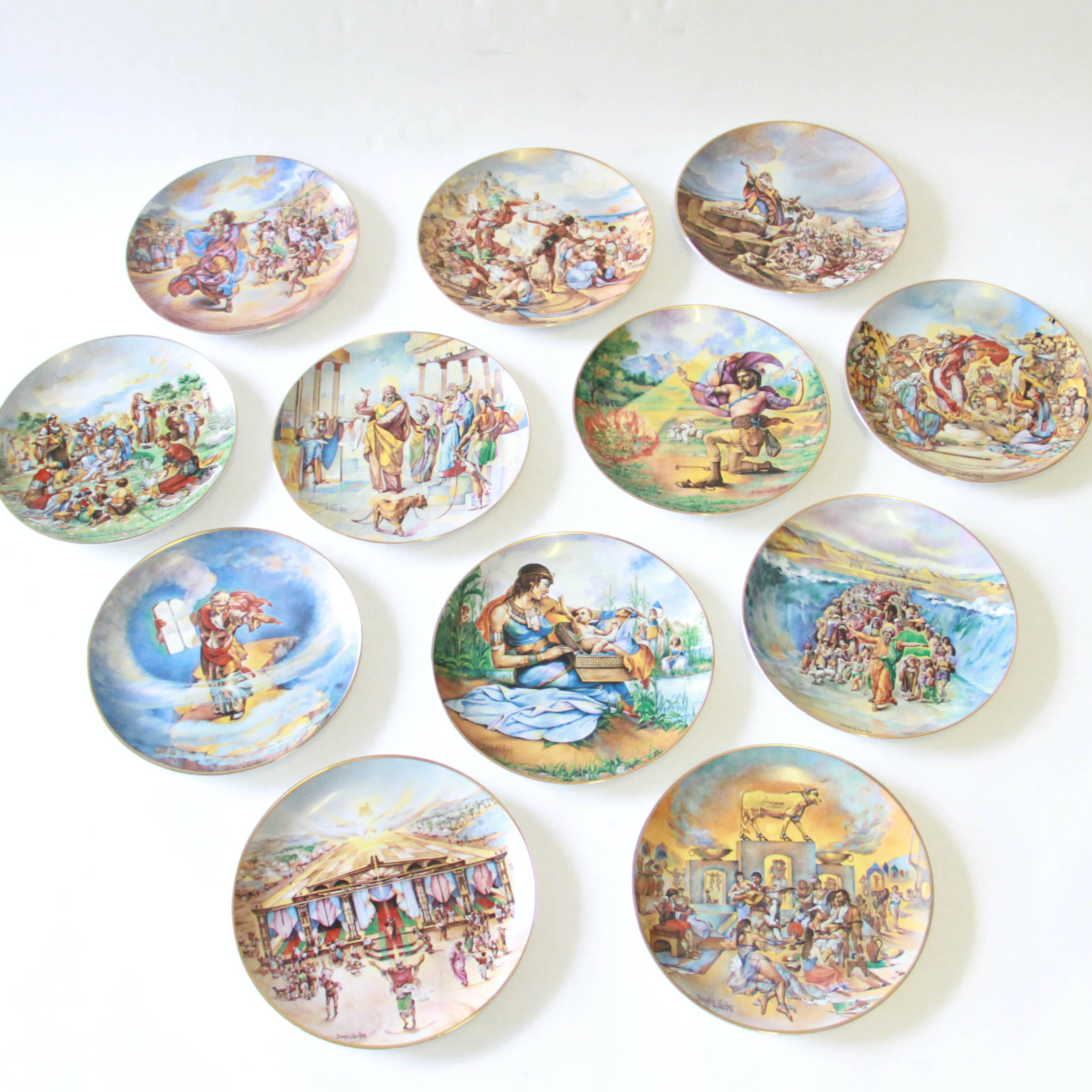"""""""The Promised Land"""" Limited Edition Plates by Yiannis Koutsis"""