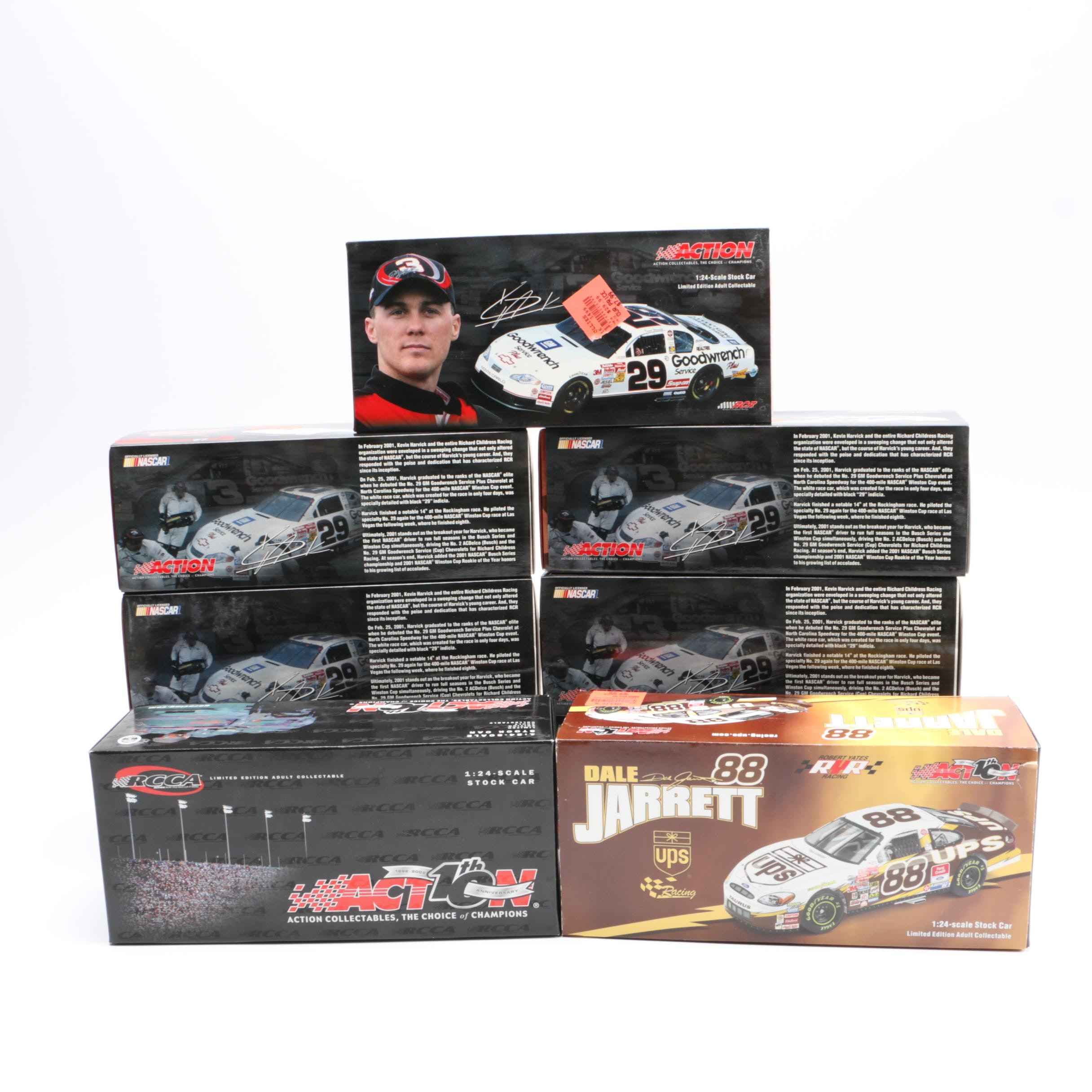 Action Racing Die-Cast Cars