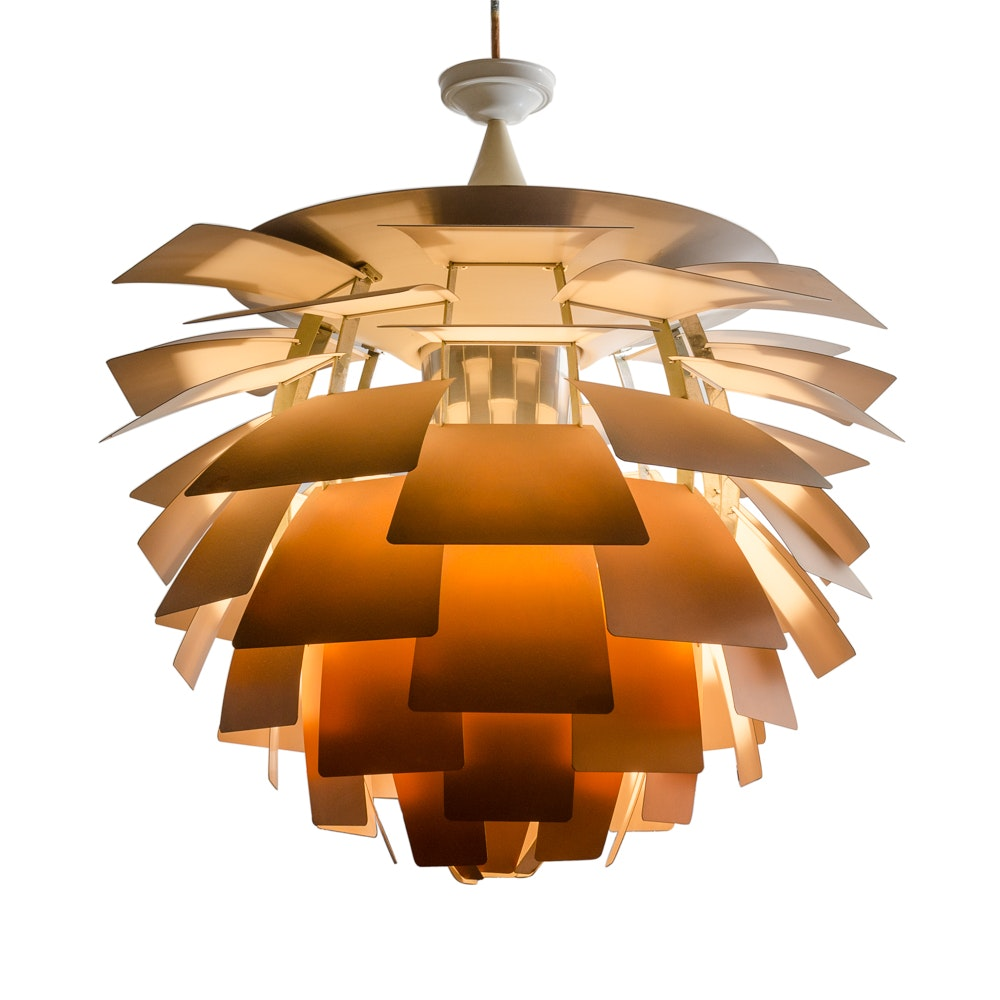 Poul Henningsen Copper PH Artichoke Pendant