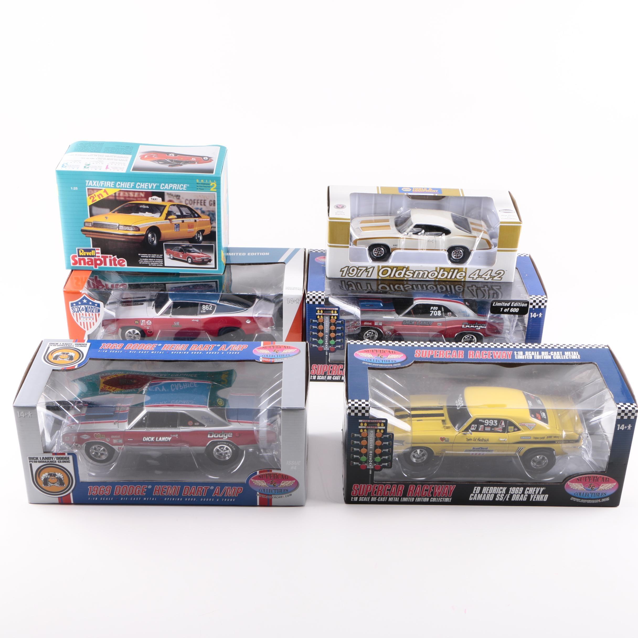 Assortment of Die-Cast Cars