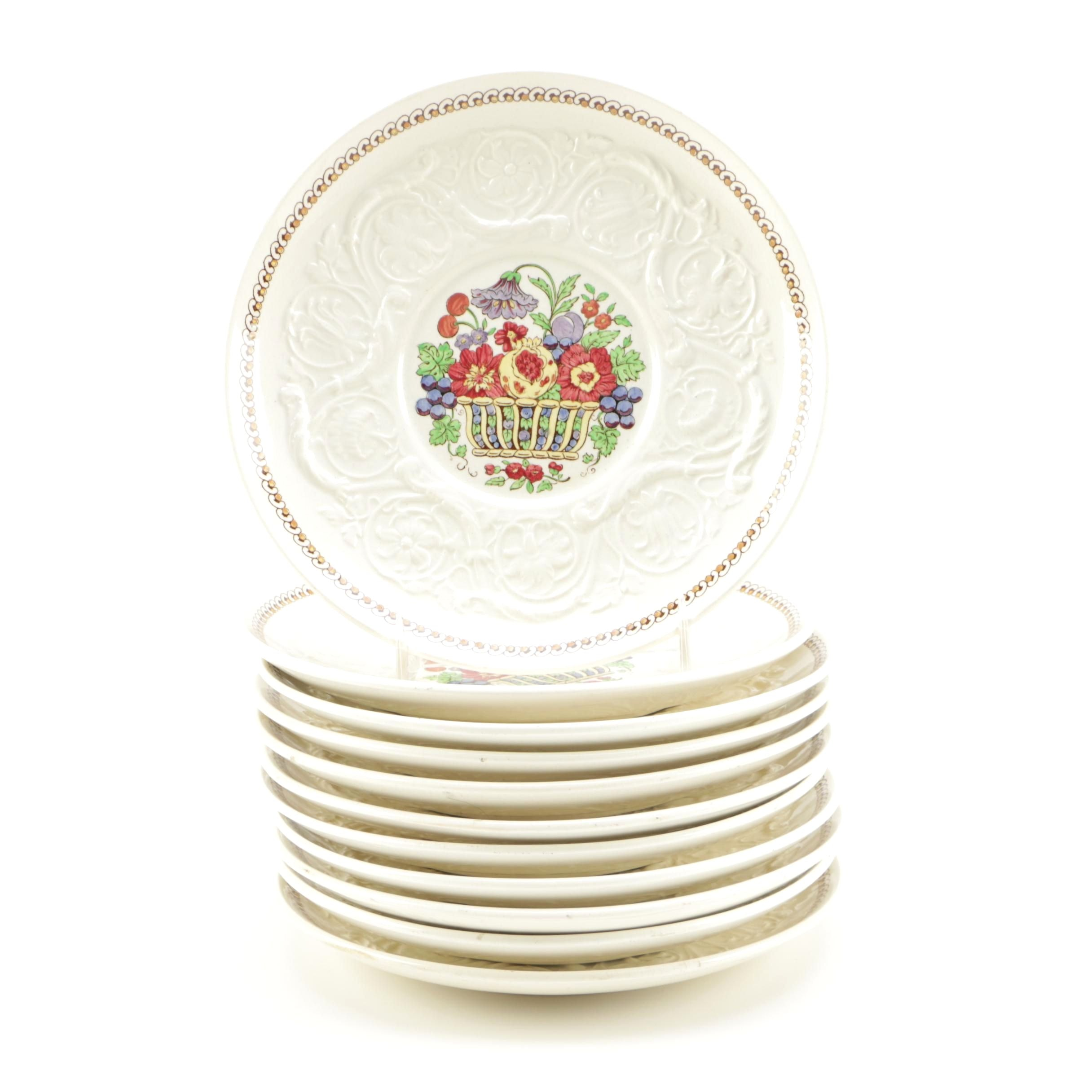 """Wedgwood Patrician """"Windermere"""" Plates"""