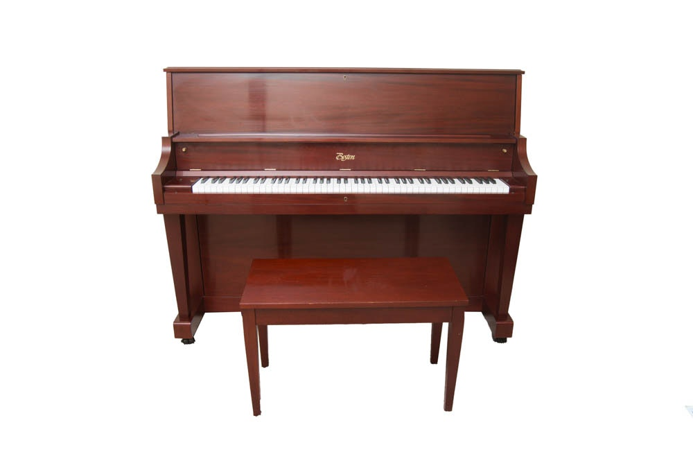 Wooden Steinway & Sons Boston Studio Piano