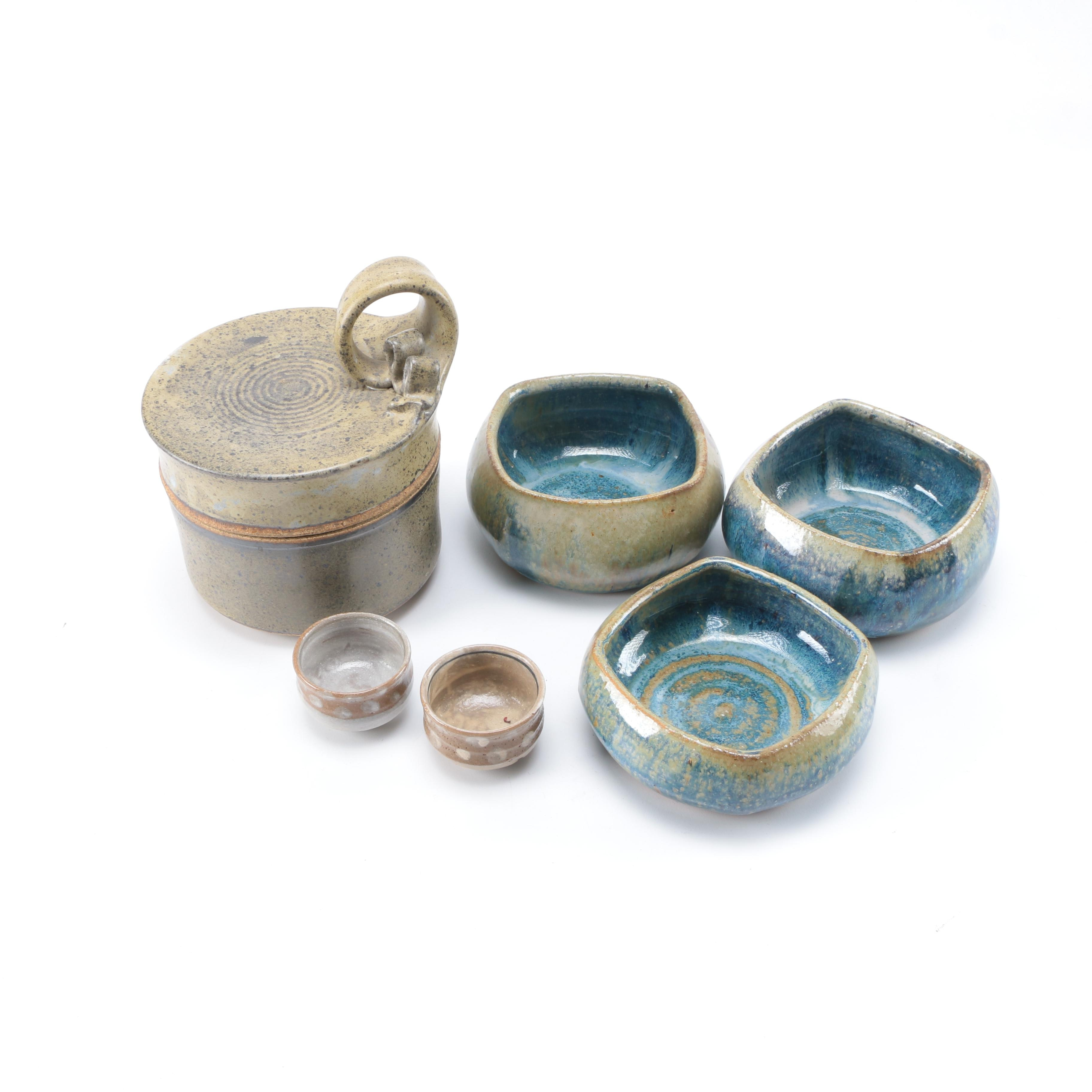 Assorted Art Pottery Vessels