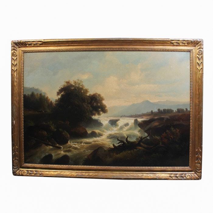 Johann-Hermann Carmiencke Oil Painting on Canvas