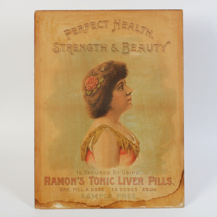 Original Ad for Roman's Tonic Liver Pills