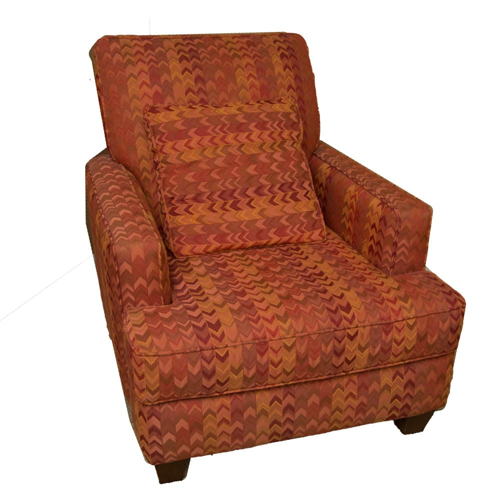 Fabric Upholstered Arm Chair