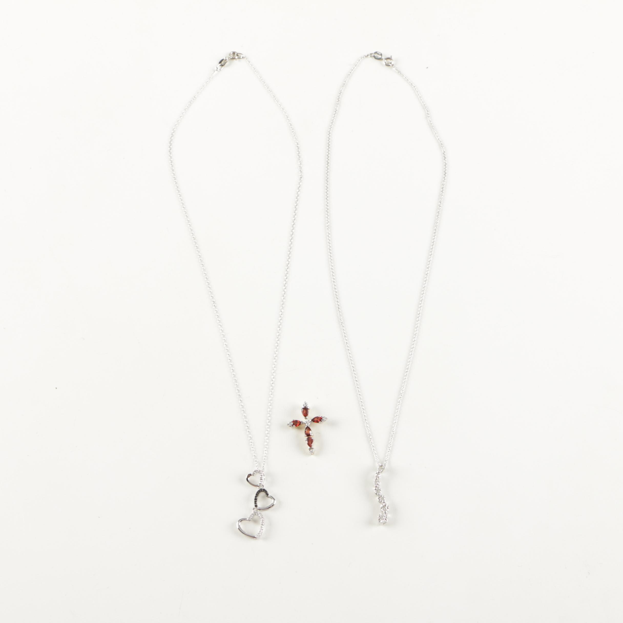 Sterling Silver Necklaces and Pendants