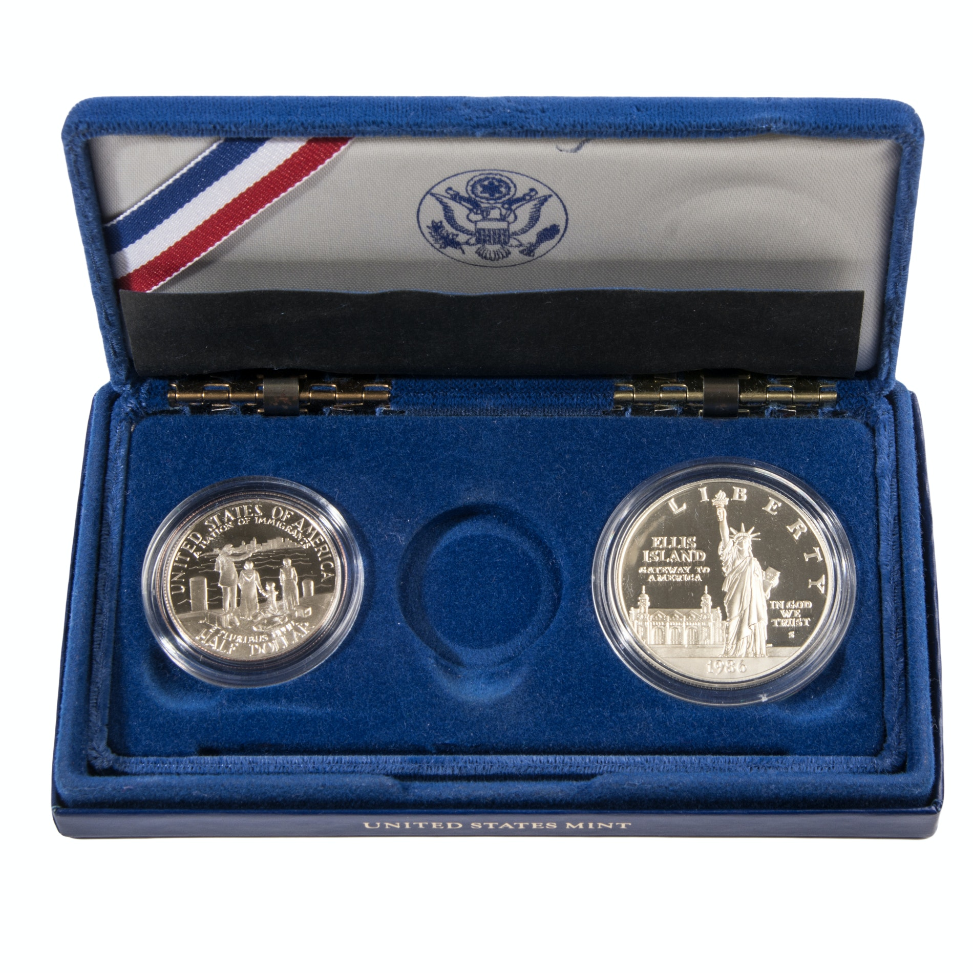 Commemorative 1986 Statue of Liberty Coins
