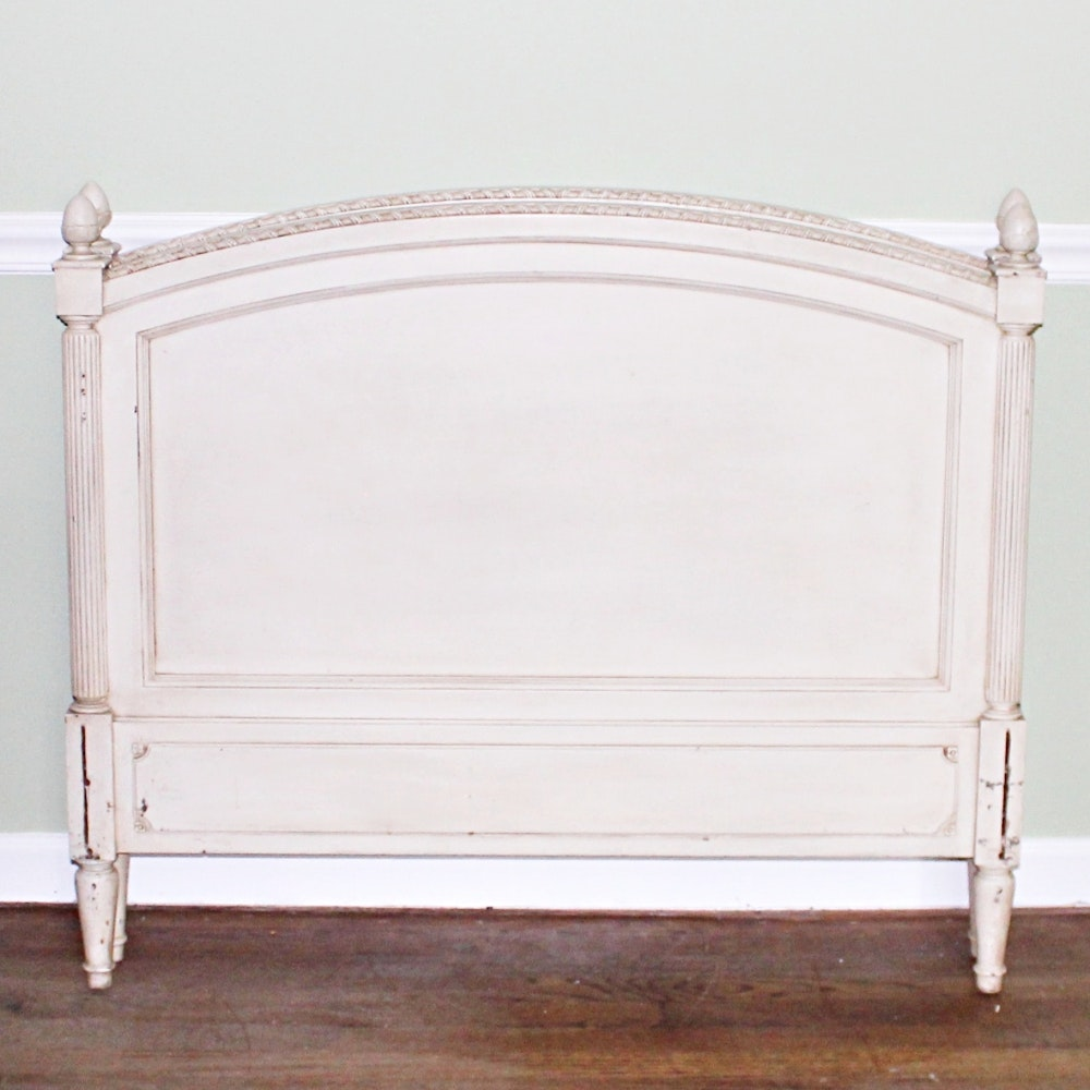 French Provincial Style Head and Foot Boards