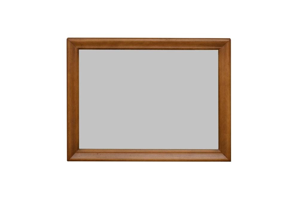 Rectangular Wood Wall Mirror