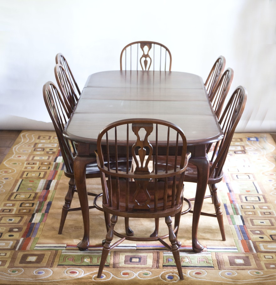 Solid Maple Dining Table and Chairs by E.R. Buck : EBTH