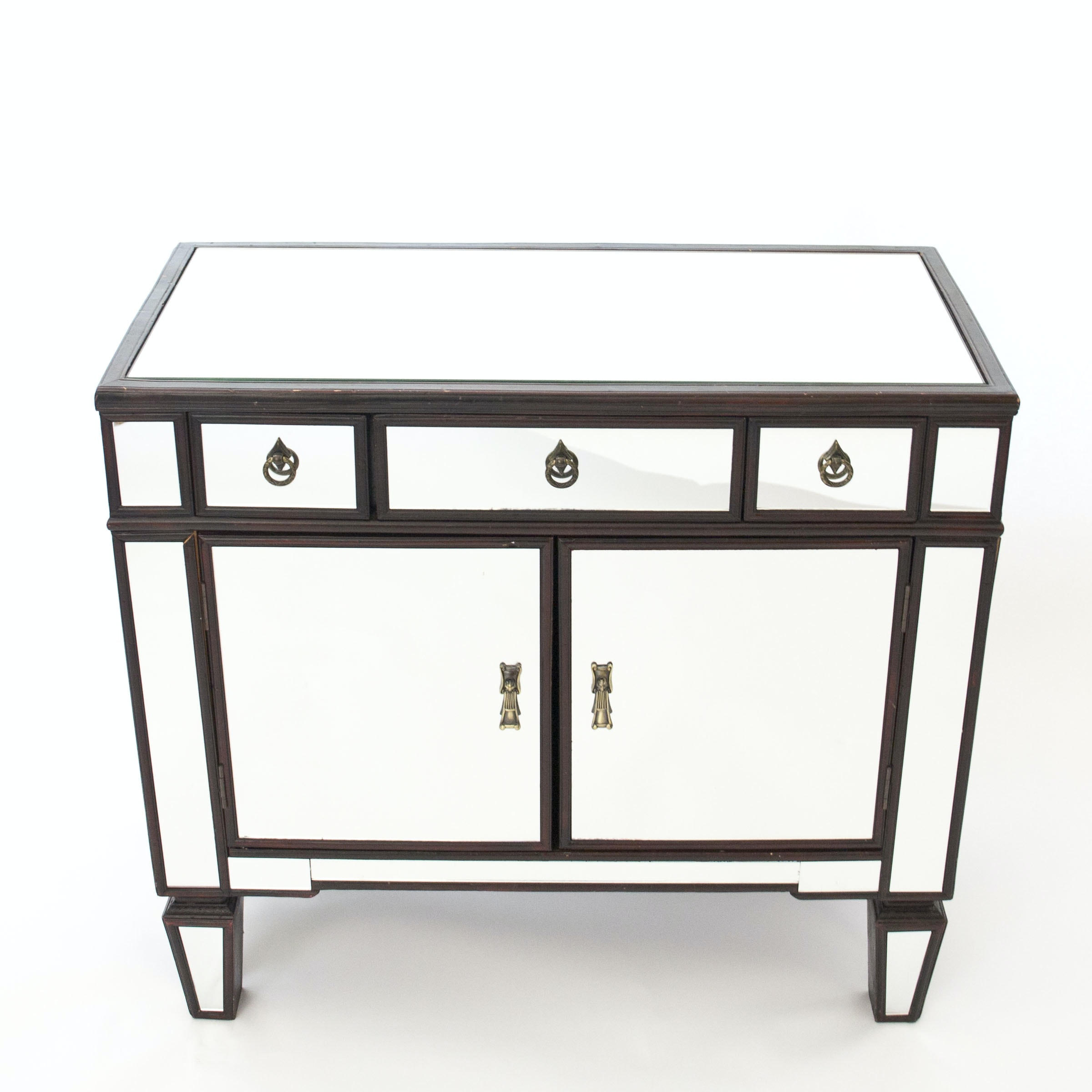 Mirrored Entry Cabinet