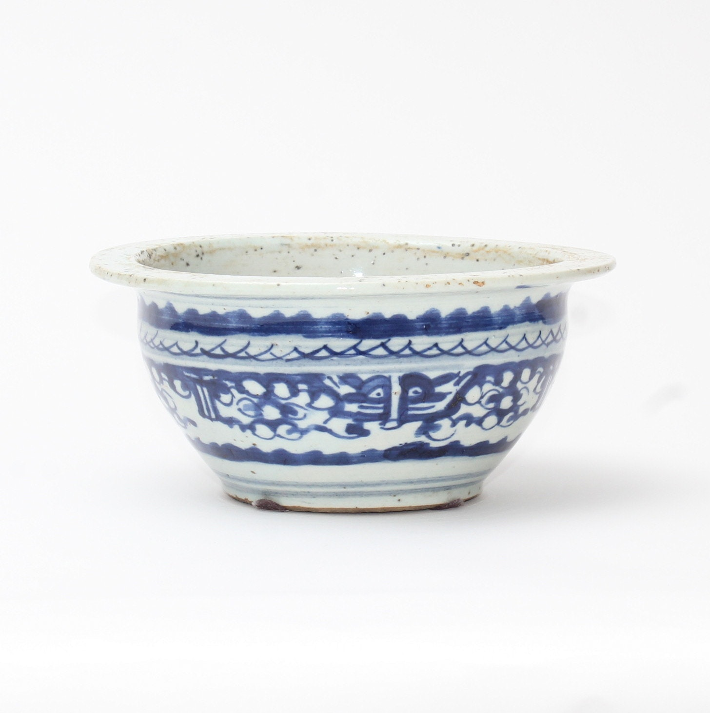 Circa 1880 Chinese Pottery Bowl