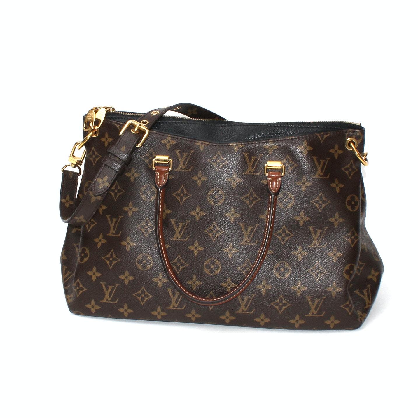 Louis Vuitton Pallas Havane Handbag
